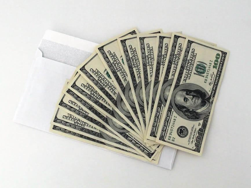 お金、ドル札