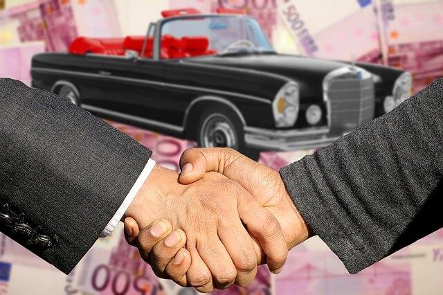 車の契約成立