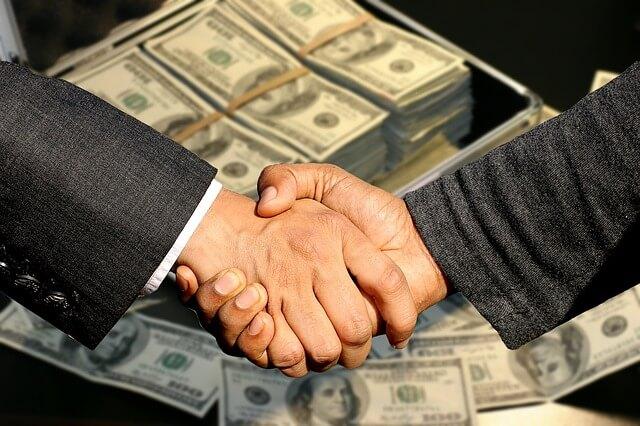 お金の取引