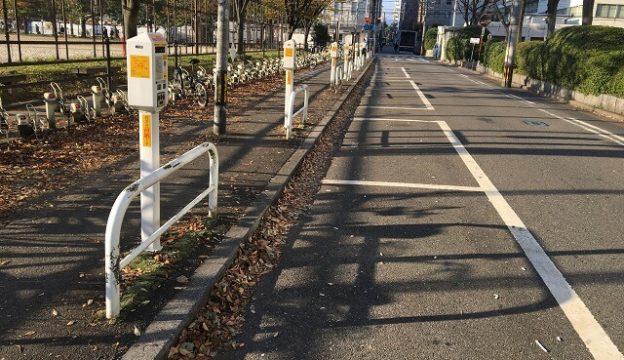道路と駐車