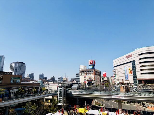 埼玉県川口市の川口駅周辺