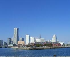 神奈川県横浜市の横浜港