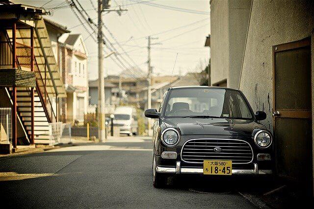 大阪ナンバーの軽自動車