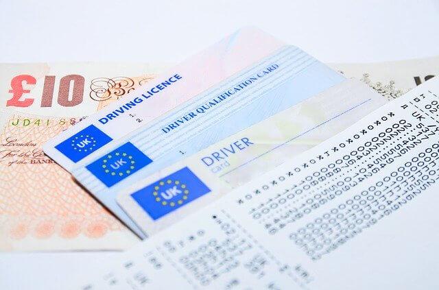 海外の免許証