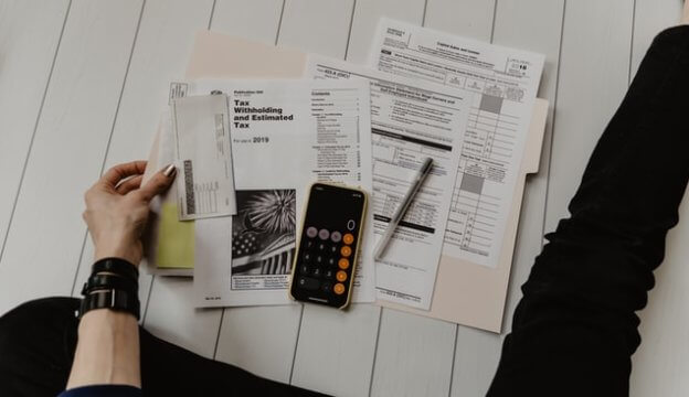 税金の支払いの計算